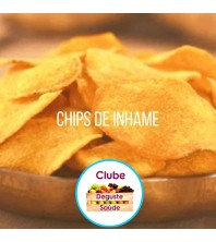 CHIPS ASSADO DE INHAME COM SAL LIGHT