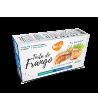 TORTA DE FRANGO Pré-Assada SEM GLUTEN com 30g Proteina 2 unidades 200g LIKE FIT