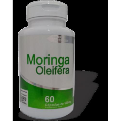 MORINGA OLEIFERA 60 CAPSULAS 500MG 4 ELEMENTOS NUTRIÇÃO INTELIGENTE