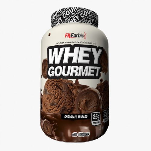 WHEY GOURMET CHOCOLATE TRUFADO FN FORBIS NUTRITION 900G