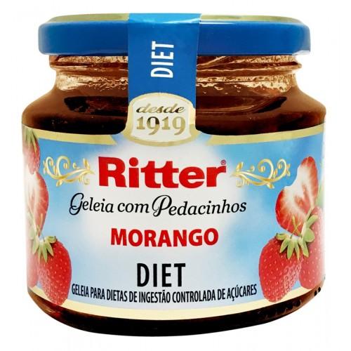 Geleia Diet de MORANGO 260g RITTER