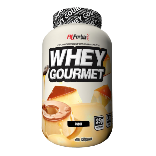WHEY GOURMET PUDIM FN FORBIS NUTRITION 900G