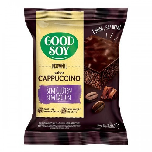 Brownie GoodSoy Capuccino 40g