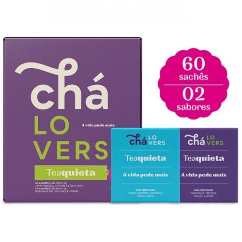 CHA LOVERS TEAQUIETA CAIXA COM 60 UNIDADES