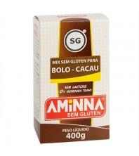 Mistura Para Bolo Cacau Sem Glúten Sem Lactose 400g - Aminna