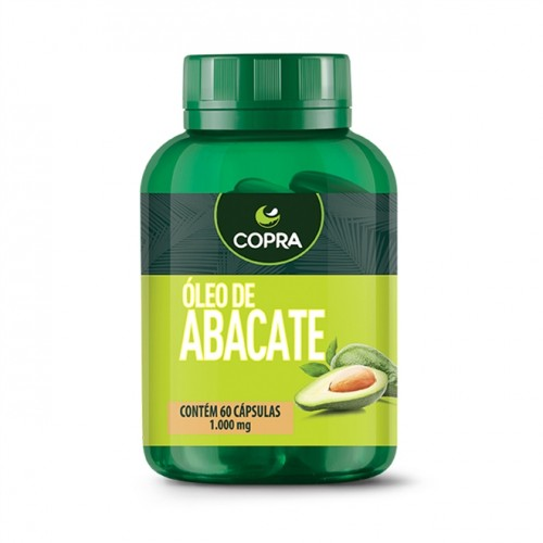 Óleo de Abacate 60 Cápsulas 1000mg - Copra