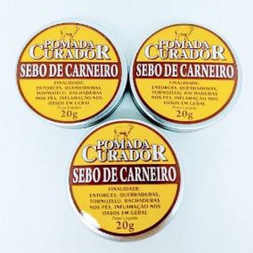 POMADA DE SEBO DE CARNEIRO 20G