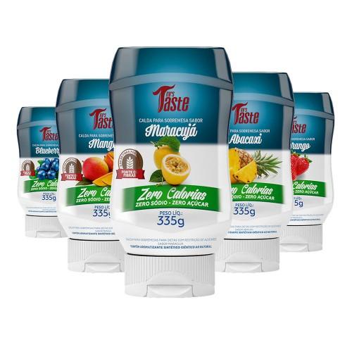 KIT 7 CaldaS ZERO para Sobremesa E LANCHES – Mrs Taste 335G