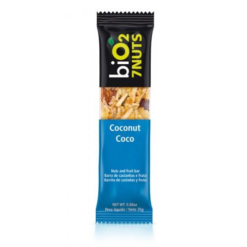 Barra De Castanhas E Frutas BiO2 7 Nuts Coco 25g BiO2