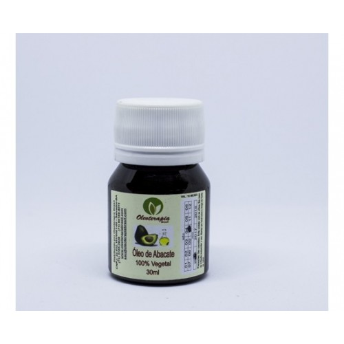 Óleo de abacate puro 30ml oleoterapia