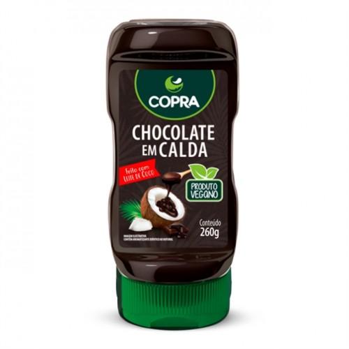 Chocolate Em Calda Feito Com Leite de Coco - Vegano 260g - Copra