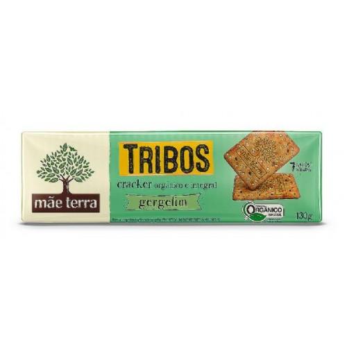Biscoito Cracker Orgânico Gergelim - 130g - Mãe Terra