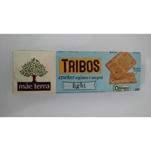Biscoito MÃE TERRA Cracker Orgânico Tribos Light 130g