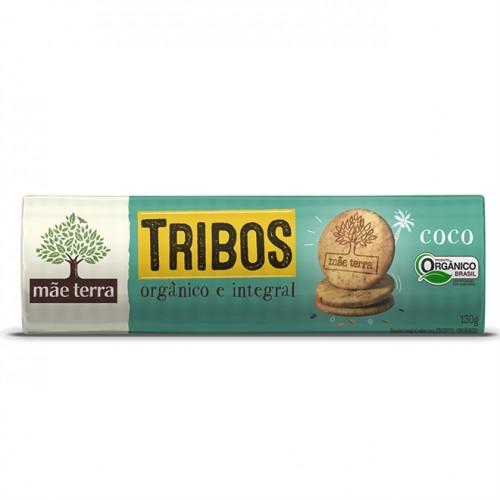 Biscoito Doce Tribos Coco - 130g - Mãe Terra