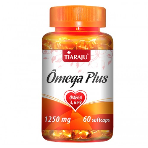 OMEGA PLUS 3,6 E 9 1250MG 60CAPS TIARAJU