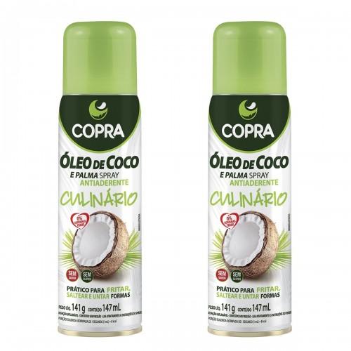 ÓLEO DE COCO EM SPRAY 147ML COPRA